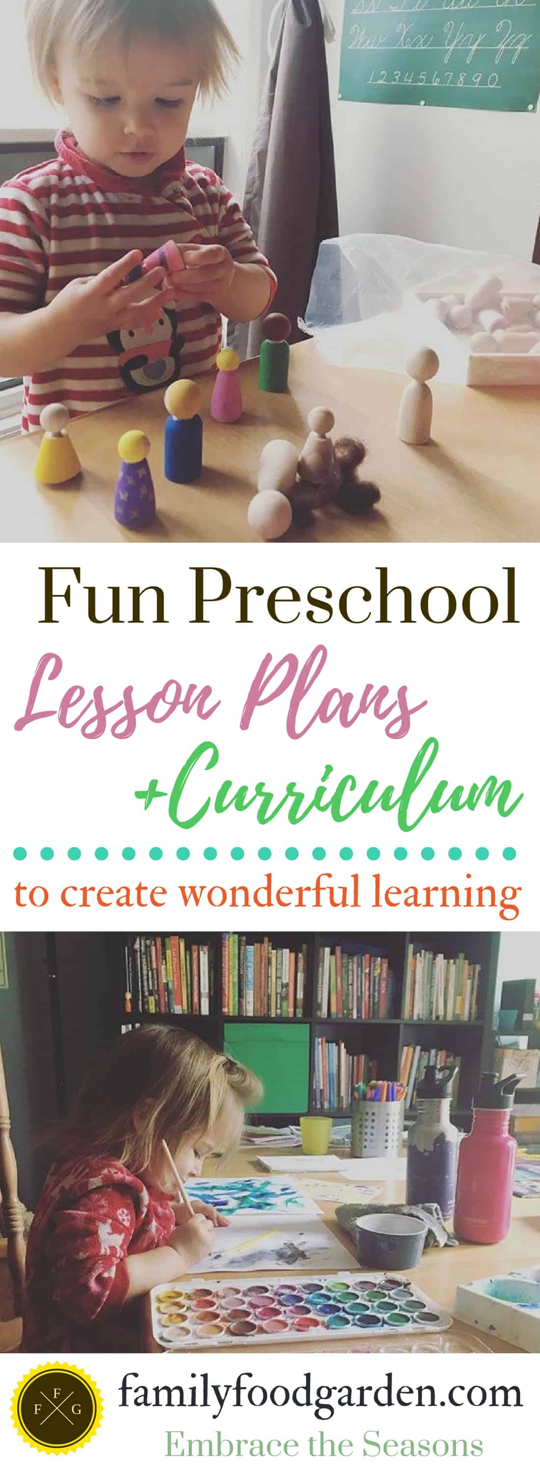 Preschool homeschool curriculum and lesson plans