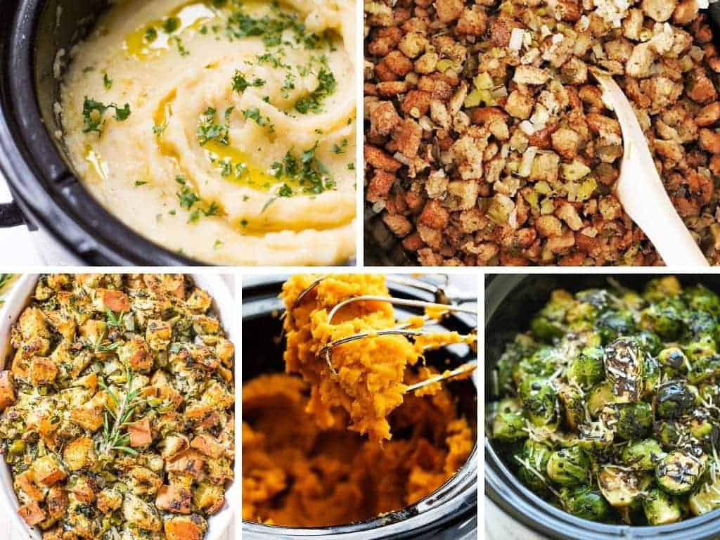 Crock pot side dishes #crockpot #sidedishes #crockpotholidays #slowcooker #slowcookersidedishes #thanksgiving #christmasdinner #slowcookerchristmas #slowcookerthanksgiving #crockpotrecipes