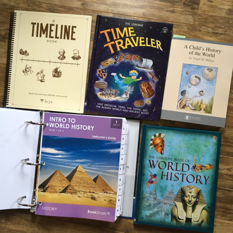 Bookshark homeschool history curriculum