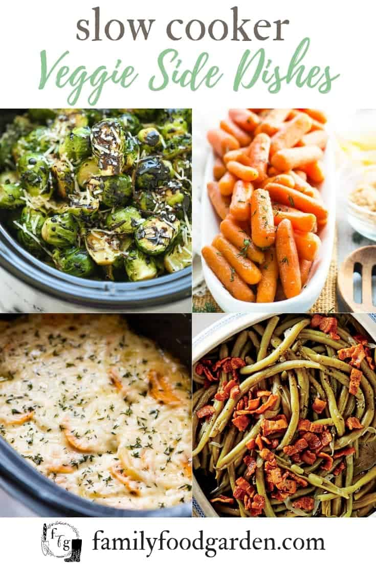 Slow cooker vegetable side dishes