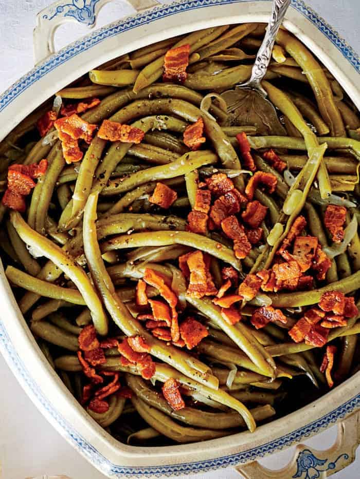 Bacon and Green Bean Slow Cooker recipe