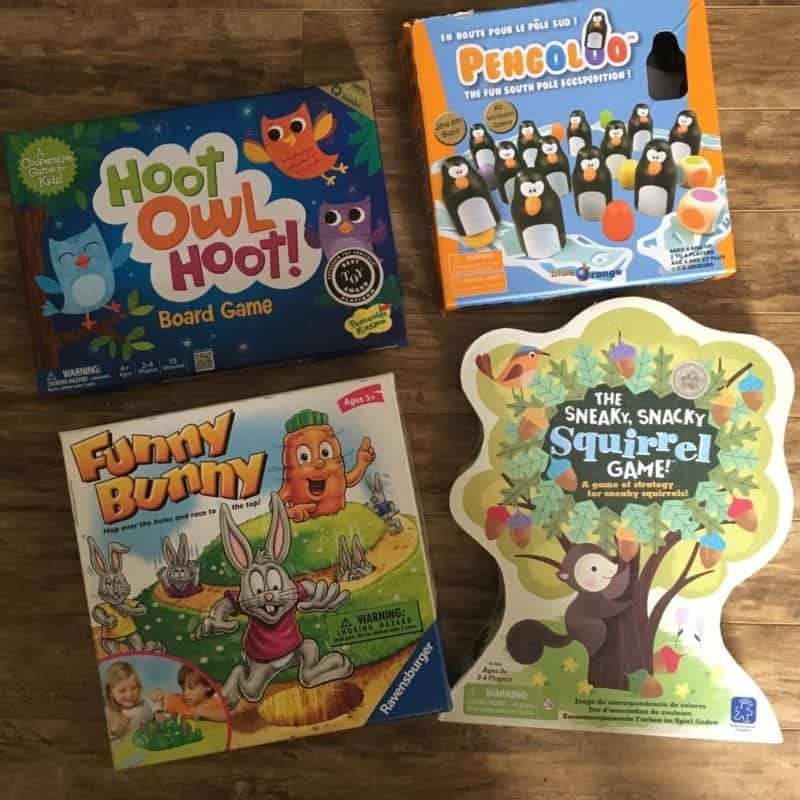 Best board games for toddlers