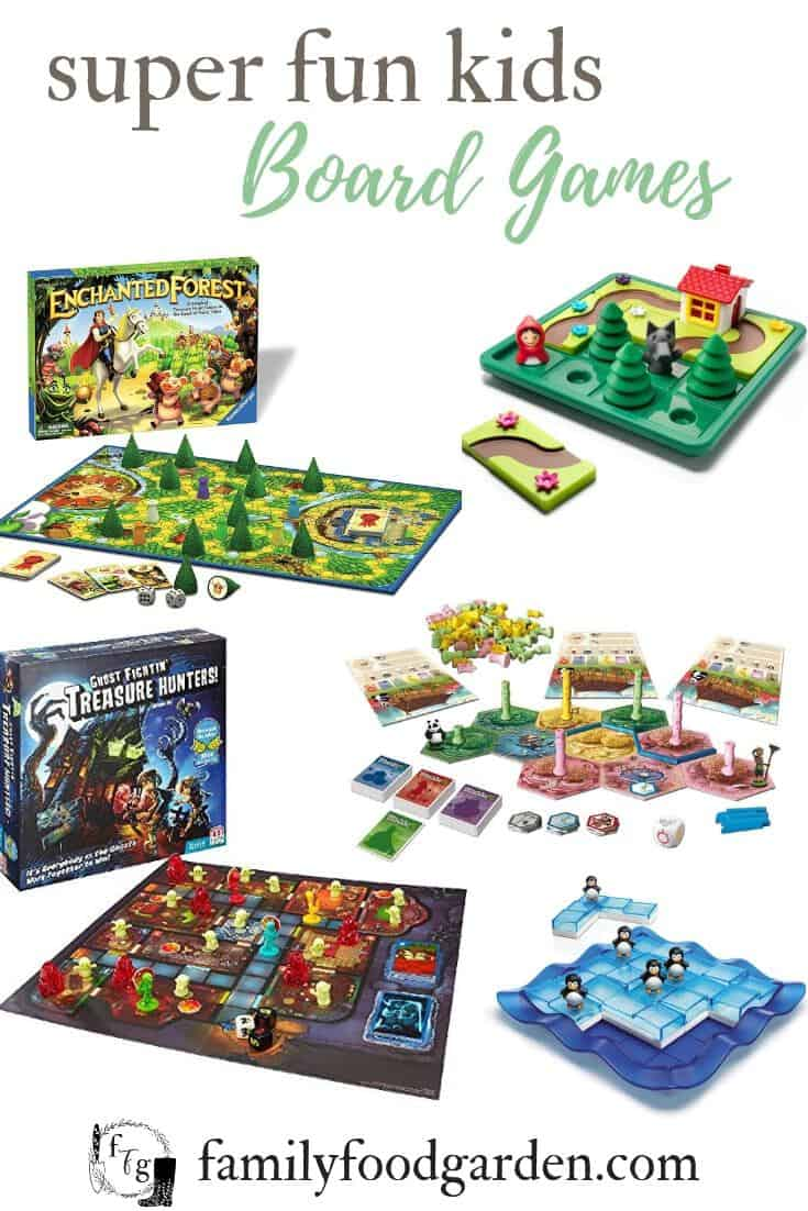 Best Kids Board Games for Family Game Night | Family Food Garden