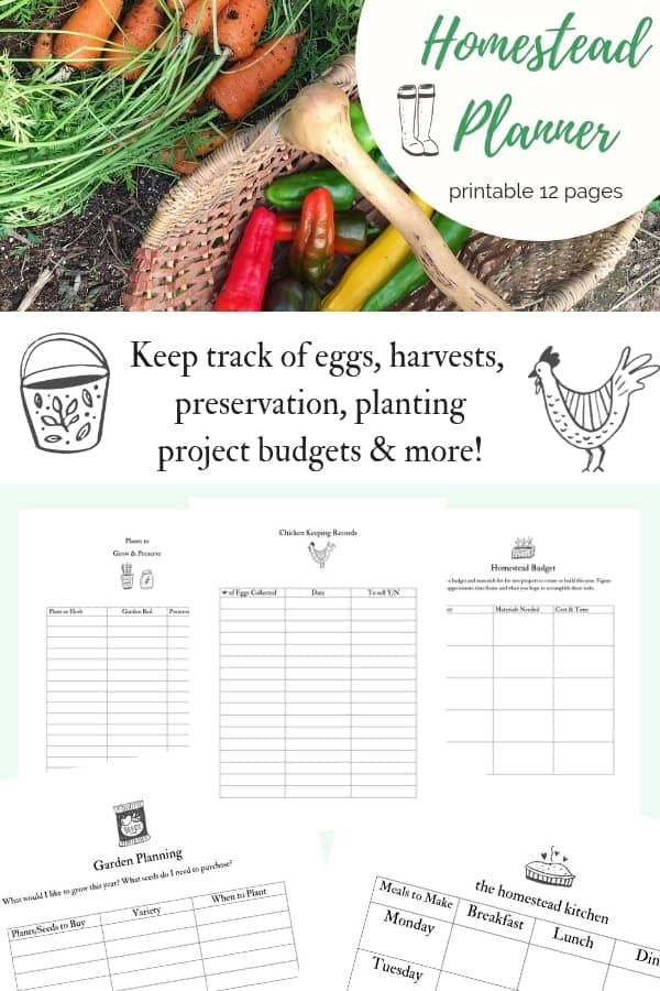 Keep track of your homestead records