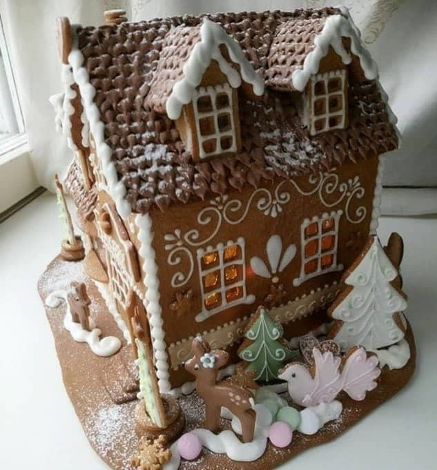 Gingerbread house decorations ideas