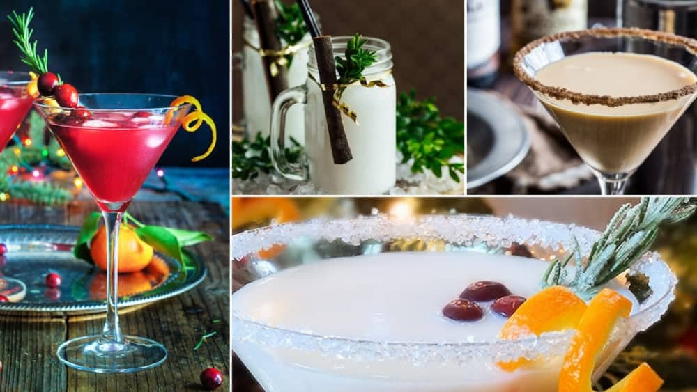 Delicious Christmas Martinis & Holiday Drinks