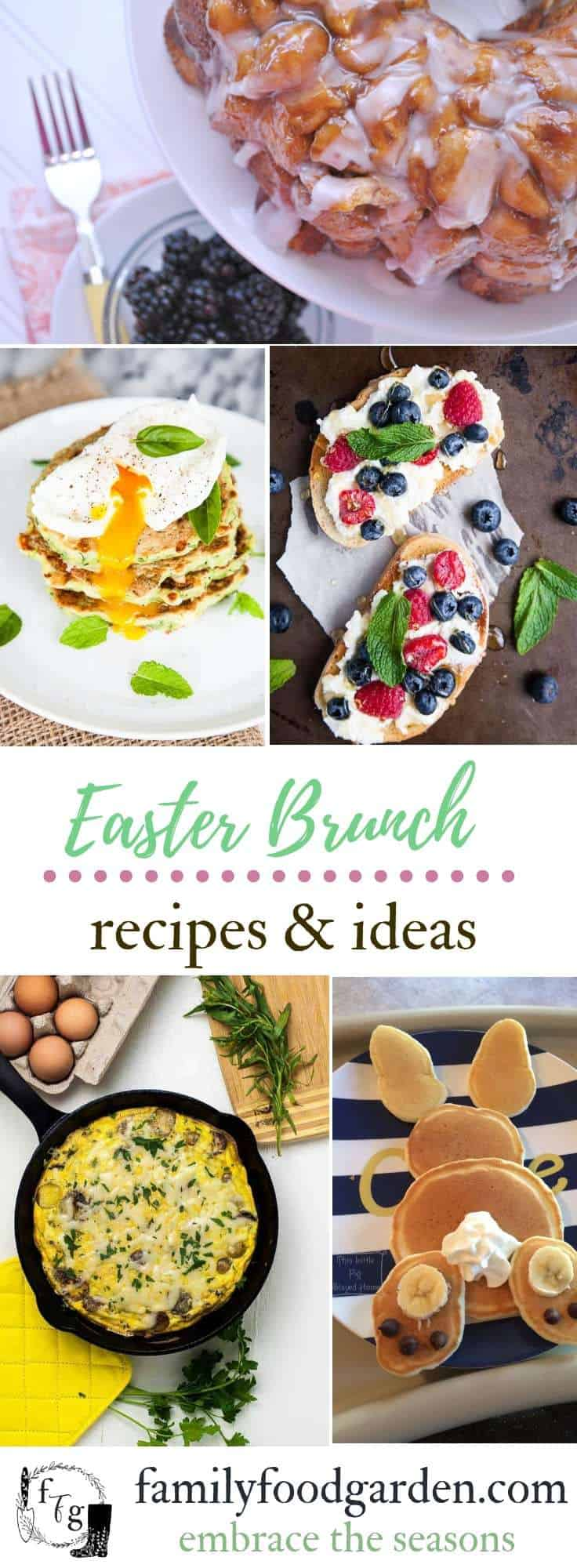 Spring And Easter Brunch Ideas Family Food Garden