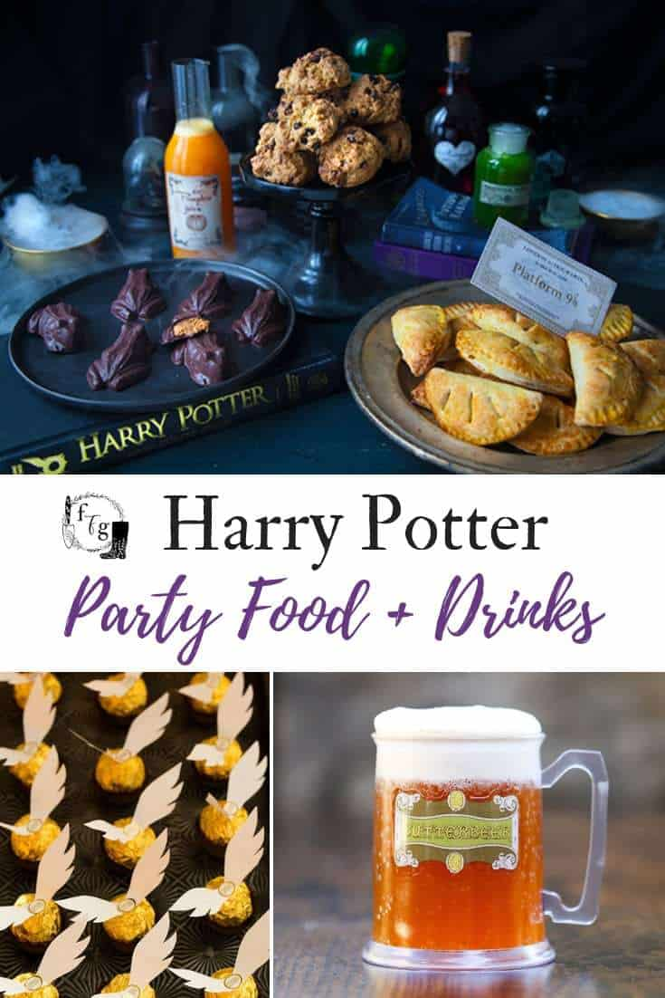 Halloween Themed Birthday Party Food Ideas.Harry Potter Party Food Drink Ideas Family Food Garden