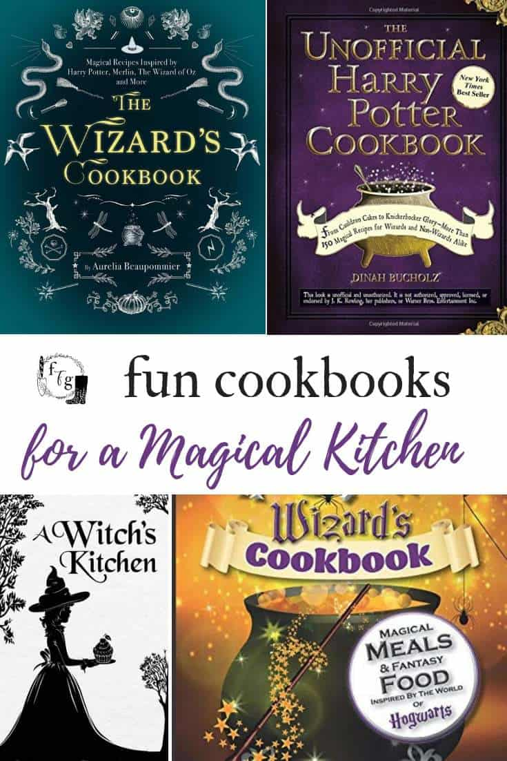 Great Magical cookbooks! #harrypotter #harrypotterfan #kidsbirthdayparty #birthdayparty #harrypotterparty #halloweenparty #halloween #cookbooks #harrypotterfood #books #kidsbooks