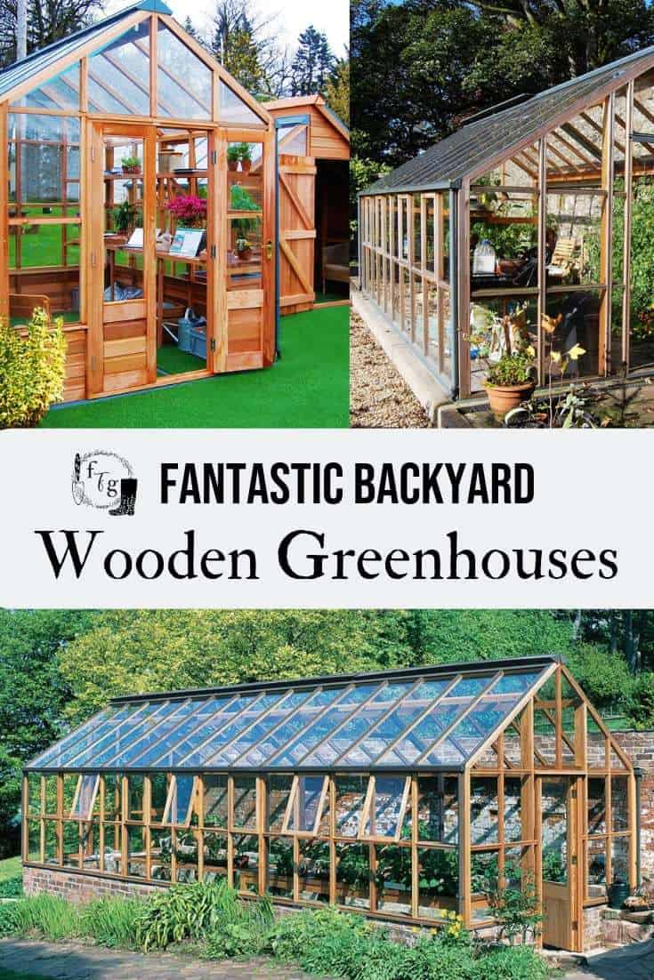 Wooden greenhouses for the backyard garden #greenhouses #greenhouse #greenhousegardening #backyardgardendesign #landscapedesign