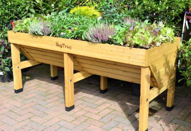Awesome raised garden planter from VegTrug