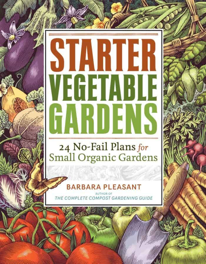 Awesome starter vegetable gardens #gardenbooks #gardening #books #beginnergardening