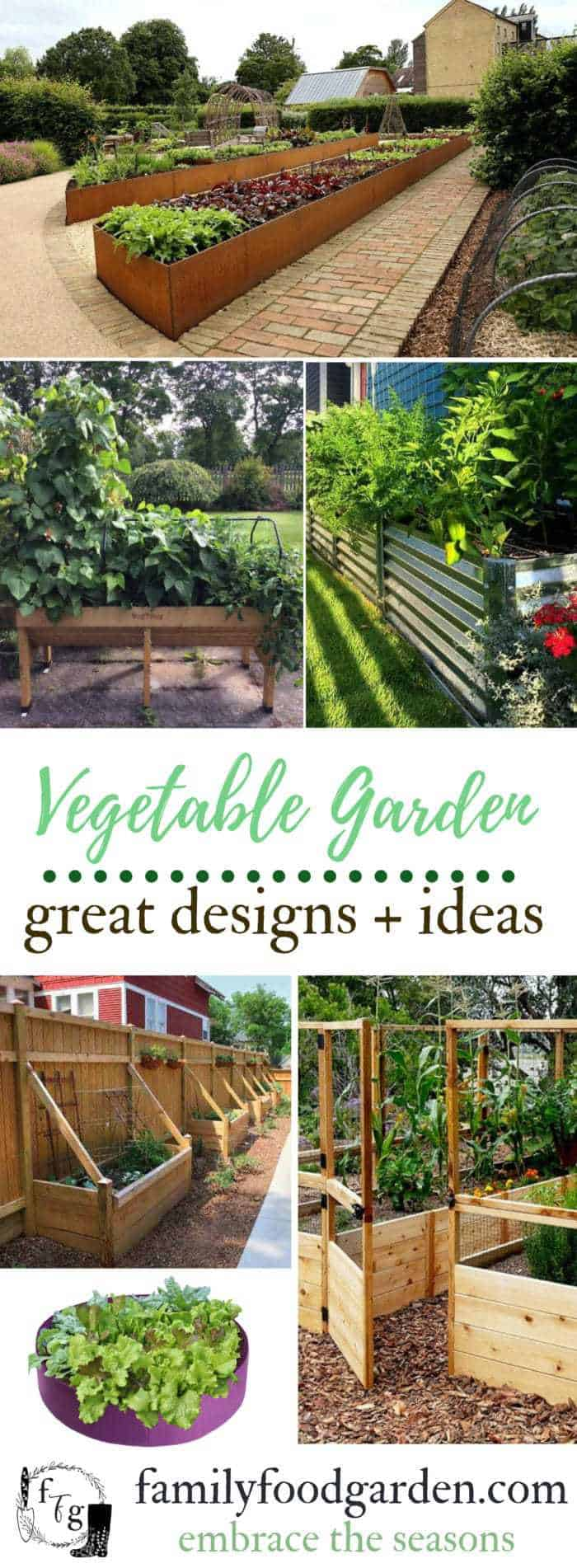 Vegetable garden ideas for metal raised beds, wooden raised beds and urban gardening #gardening #gardenideas #gardendesign #vegetablegardening #vegetablegarden #urbangarden #gardendesign #gardenplanning