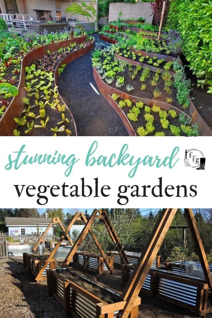 Awesome garden design ideas! #gardendesign #gardening #gardenbeds #metalraisedbeds #raisedgardening #landscapedesign