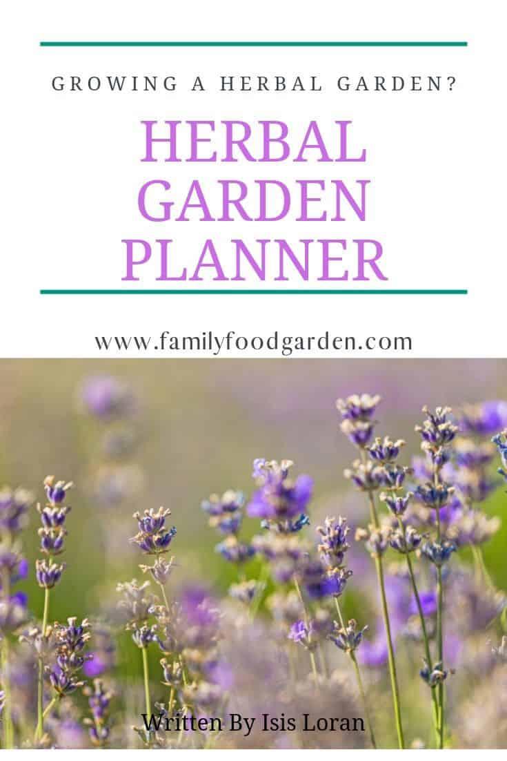 herbal garden planner