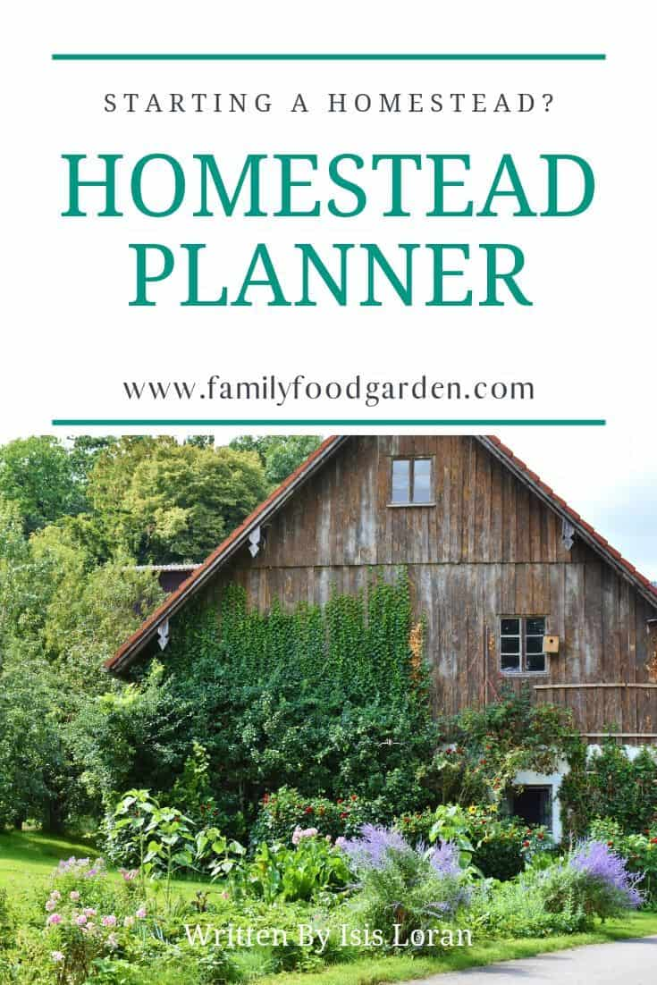 homestead planner